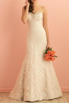 Allure Bridals Lace Fit-n-Flare Gown - Product List Image