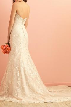 Allure Bridals Lace Fit-n-Flare Gown - Alternate List Image