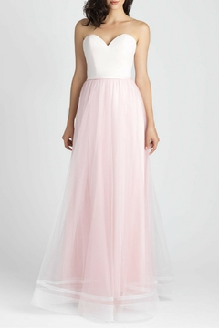 Allure Bridals Lace Tulle Bridesmaid Dress - Product List Image