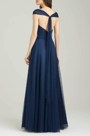Allure Bridals Tulle Bridesmaid Dress - Front full body