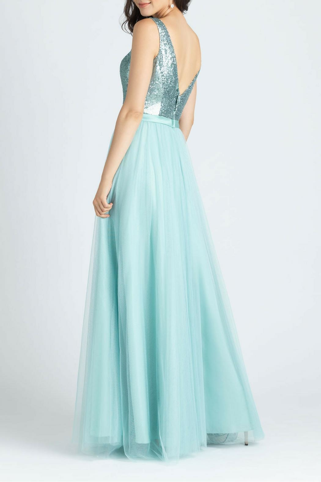 Allure Bridals Sequins Tulle Dress - Front Full Image