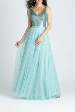 Allure Bridals Sequins Tulle Dress - Product List Image