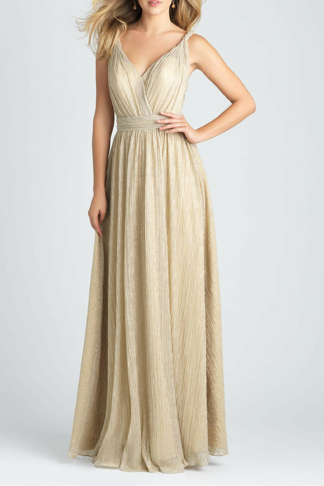 Allure Bridals Shimmer Bridesmaid Gown - Main Image
