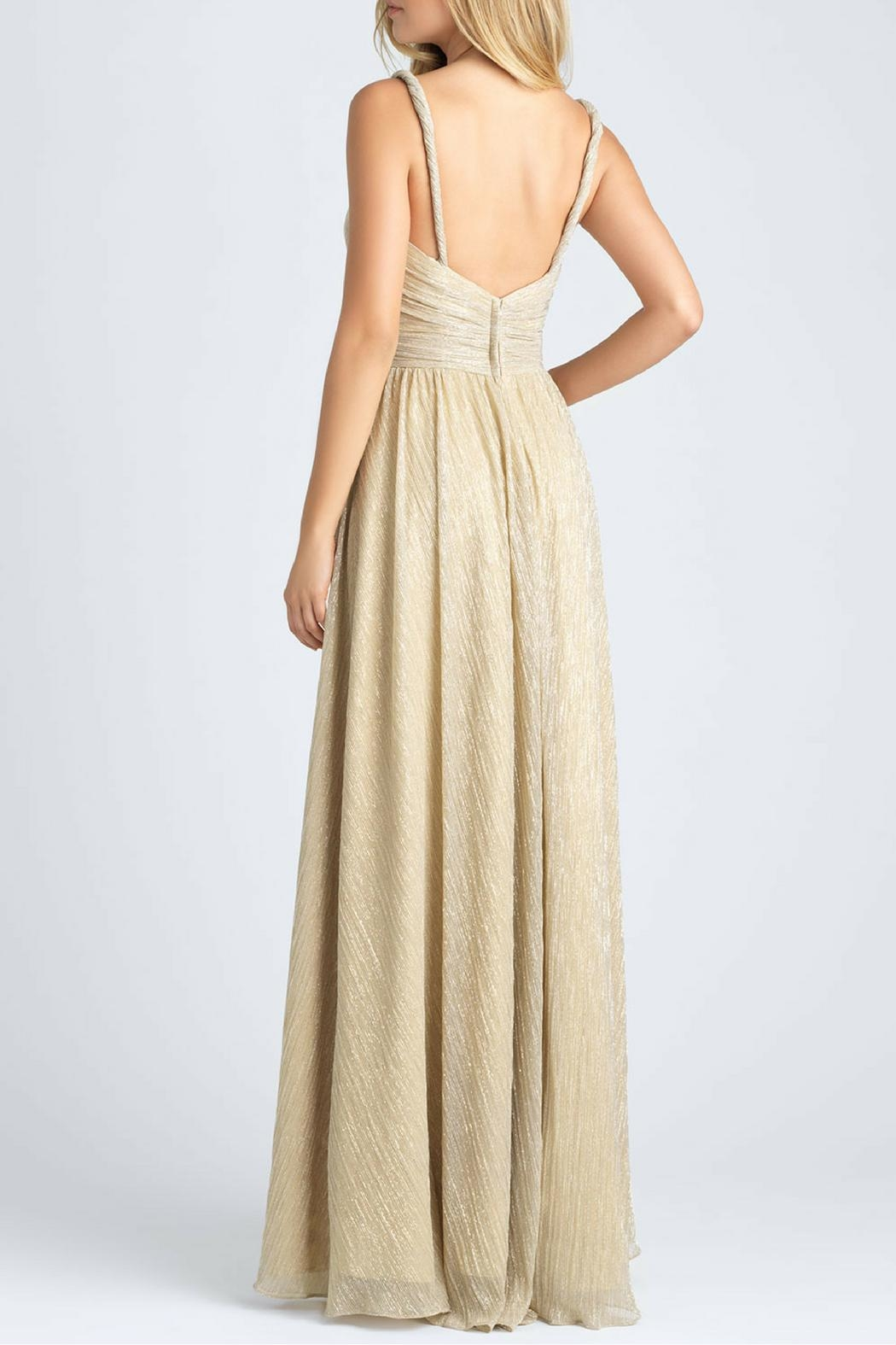 Allure Bridals Shimmer Bridesmaid Gown - Front Full Image