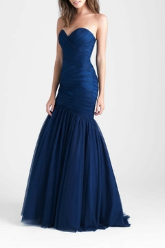 Allure Bridals Strapless Tulle Mermaid Gown - Product List Image