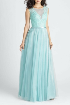 Allure Bridals Tulle Lace Bridesmaid Dress - Product List Image