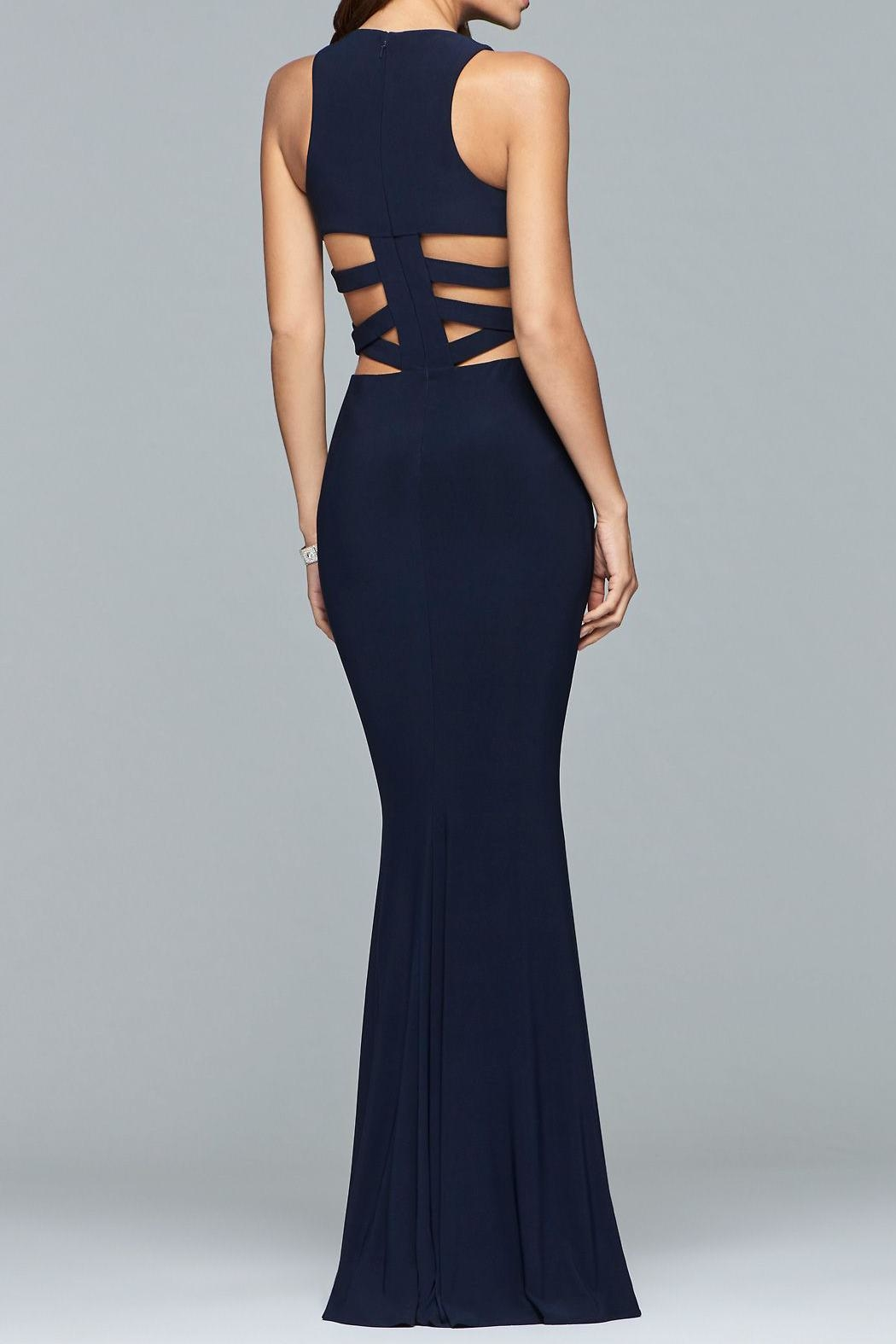 Faviana Alluring Cut-Out Dress - Front Full Image