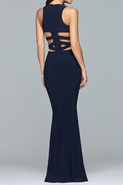 Faviana Alluring Cut-Out Dress - Front full body