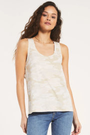z supply Ally Camo Tank - Front cropped