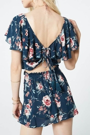 Band Of Gypsies Alma Floral Top - Side cropped