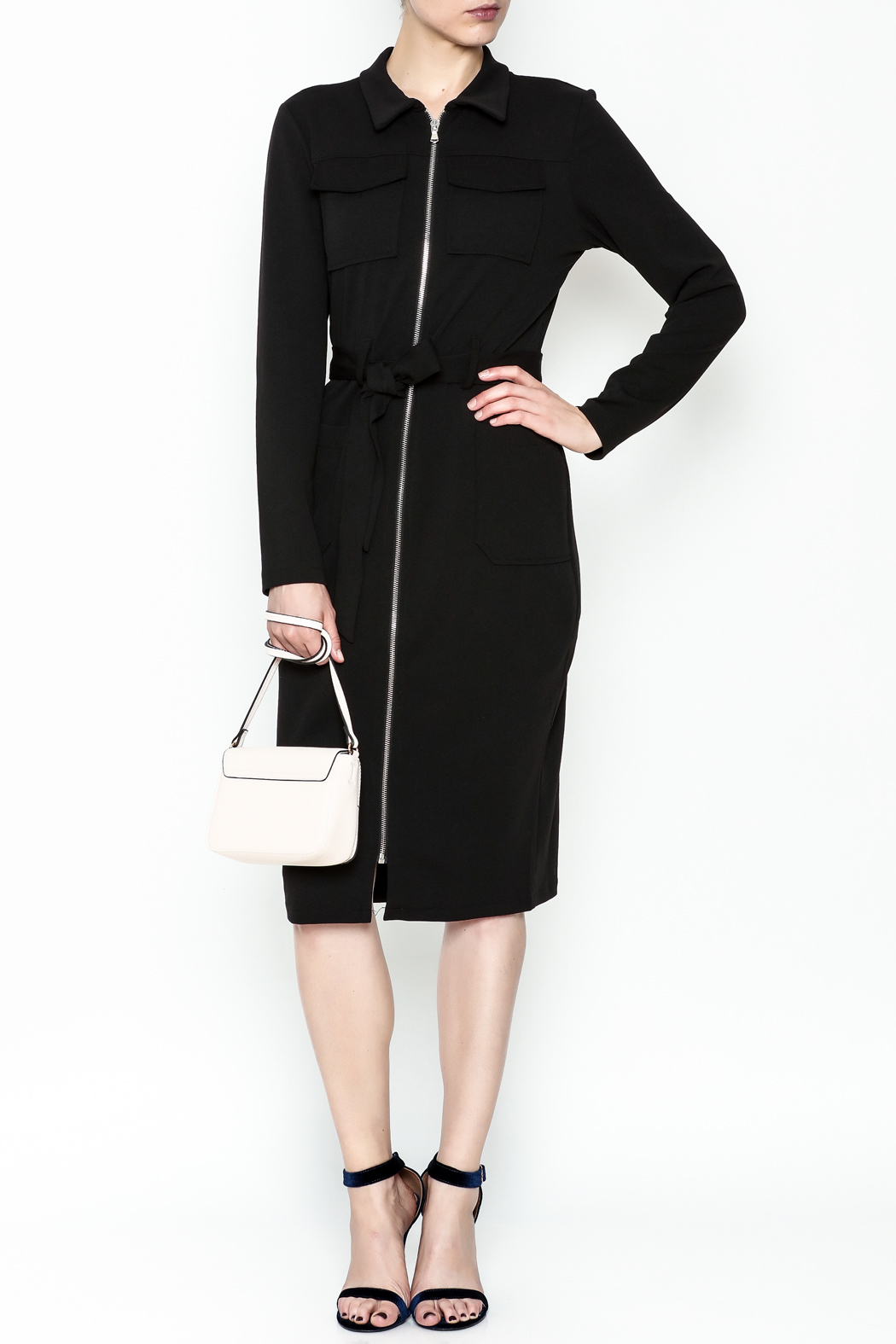 Almatrichi Cremallera Zipped Dress - Main Image