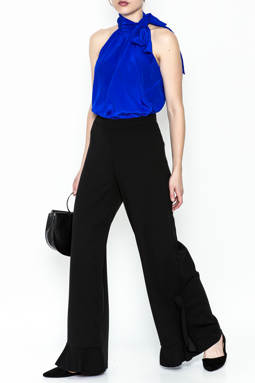 Almatrichi Orlon Largo Pants - Side Cropped Image