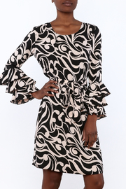 Almatrichi Twill Long SLeeve Dress - Product Mini Image