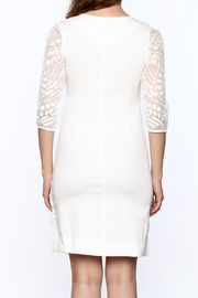 Almatrichi White Lace Dress - Back cropped