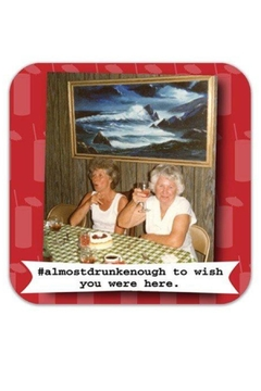 Shoptiques Product: Almost Wish Coaster