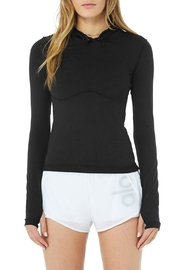 ALO Alosoft Hooded Runner - Front cropped