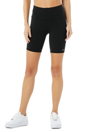 ALO High-Waist Biker Short - Front cropped