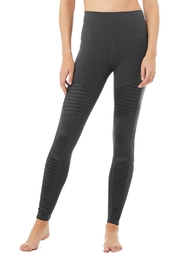 ALO High-Waist Moto Leggings - Product Mini Image