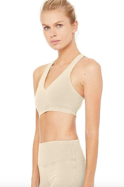 ALO Alo Sueded Base Bra - Front full body