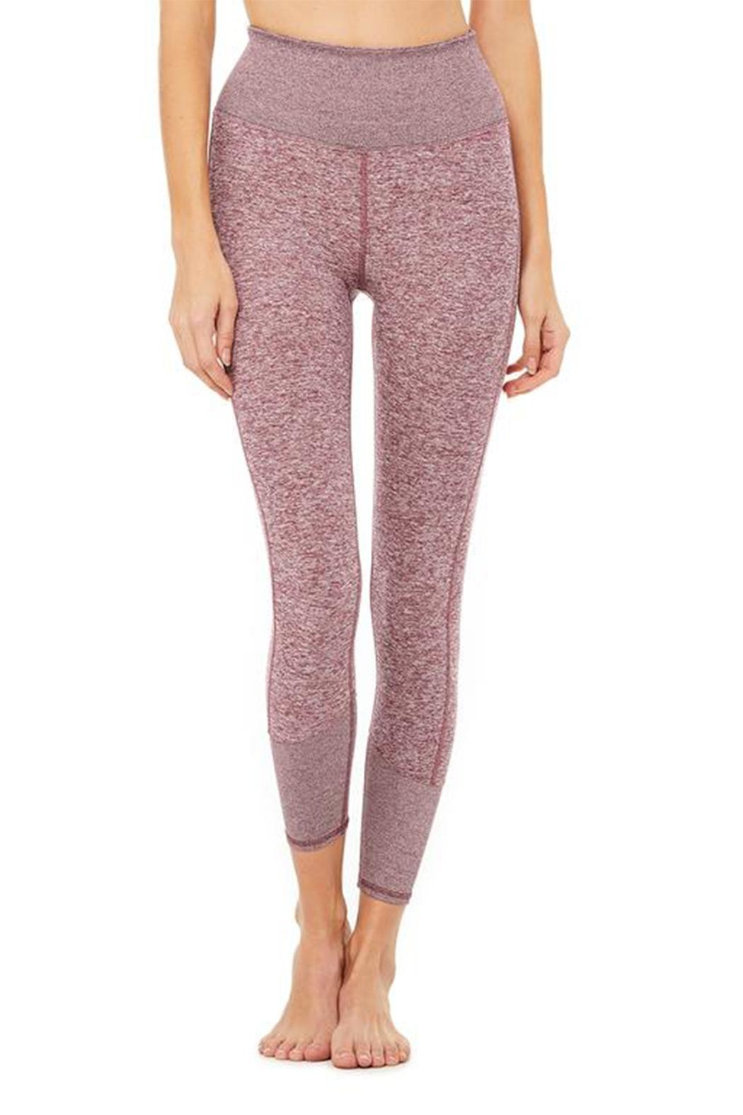 ALO Yoga 7/8 Lounge Legging - Front Cropped Image