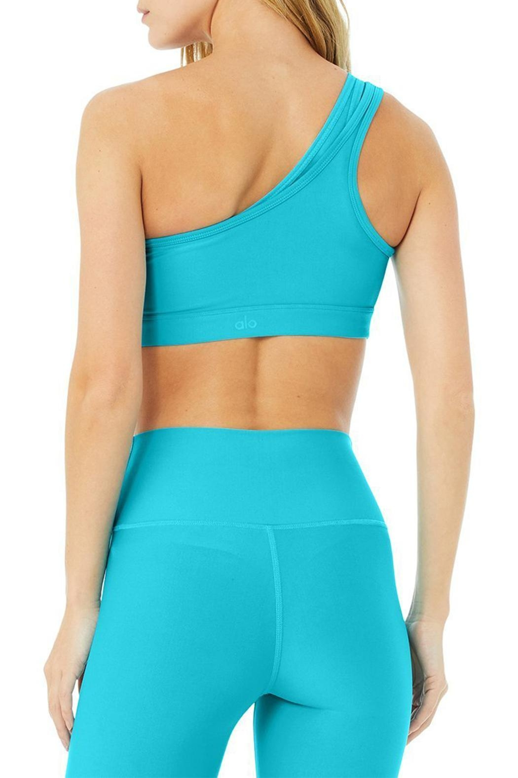 ALO Yoga Airlift Excite Bra - Side Cropped Image