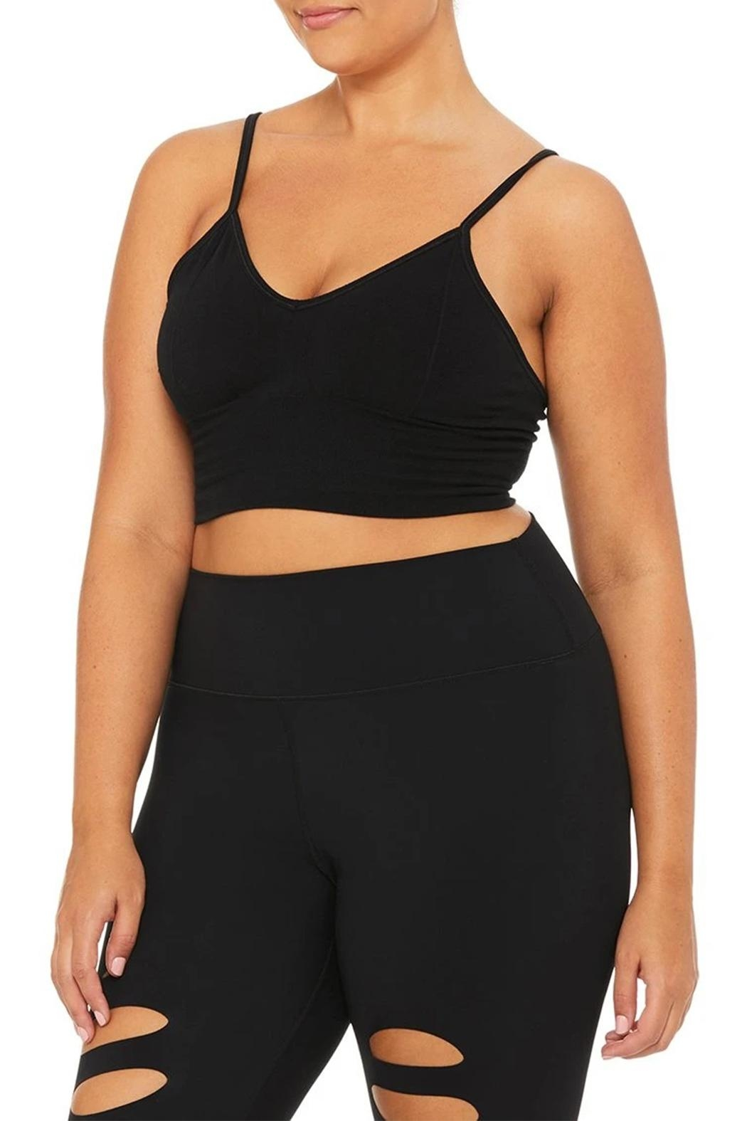 ALO Yoga Delight Bralette - Back Cropped Image