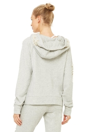 ALO Yoga Distressed Hoodie - Side cropped