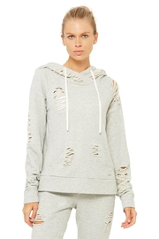 ALO Yoga Distressed Hoodie - Front cropped
