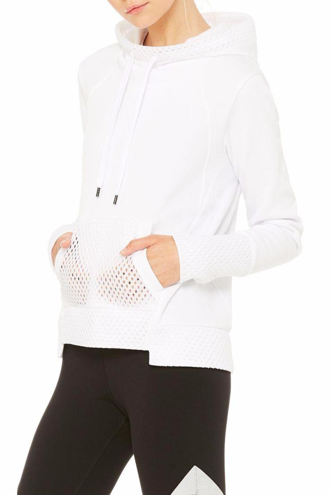 ALO Yoga Eclipse Long-Sleeve Top - Front Full Image