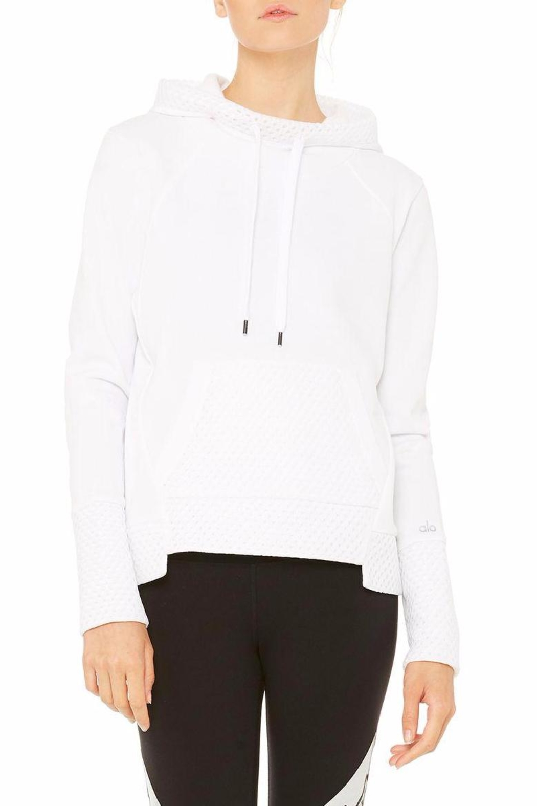 ALO Yoga Eclipse Long-Sleeve Top - Front Cropped Image