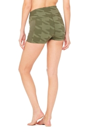ALO Yoga Elevate Houndstooth Short - Front full body