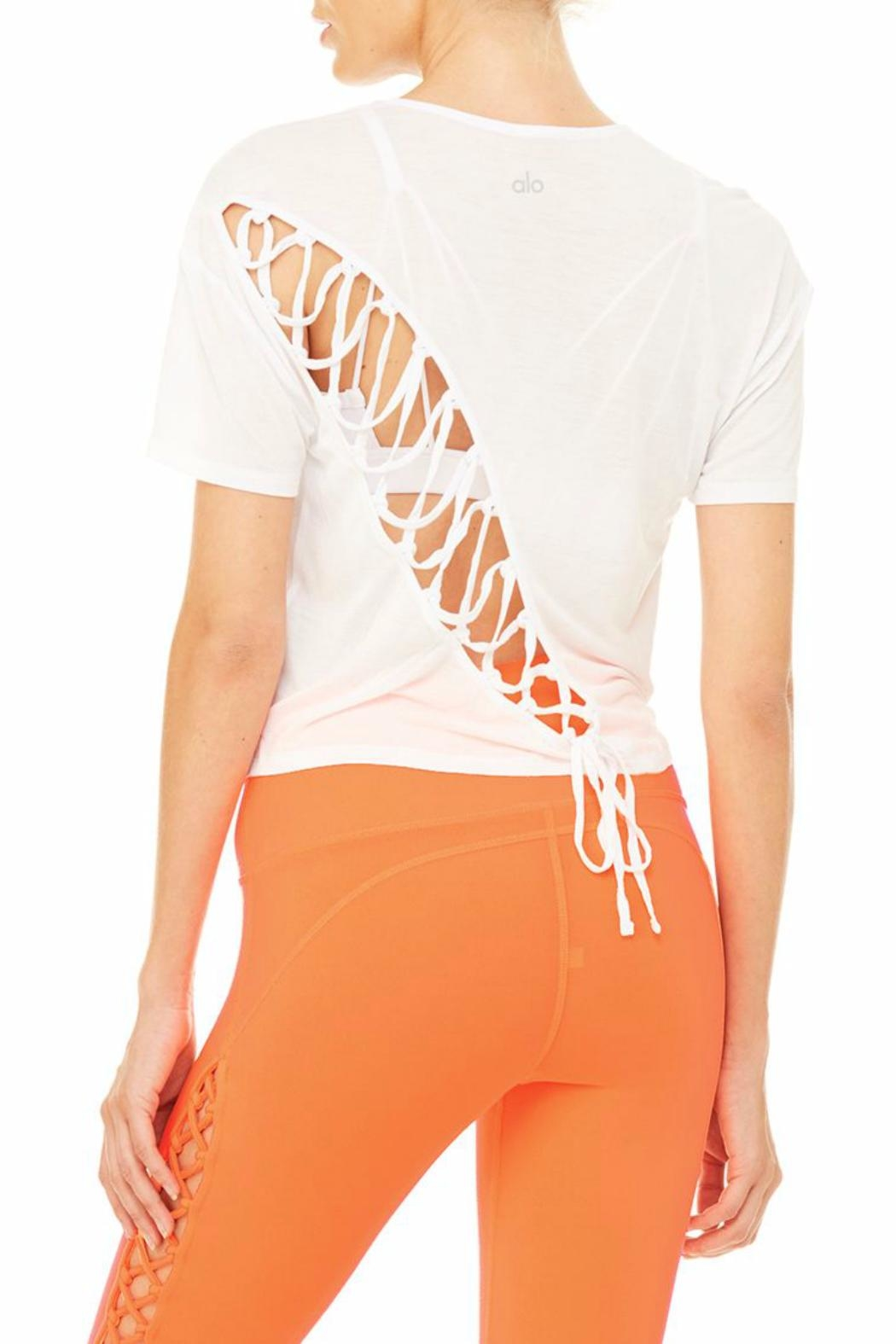 ALO Yoga Entwine Top - Front Full Image