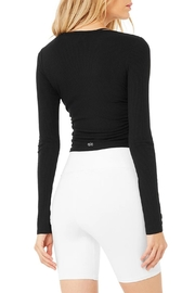 ALO Yoga Gather Long Sleeve - Side cropped