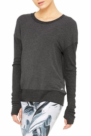 ALO Yoga Intricate Long Sleeve Sweater - Product Mini Image