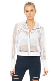 ALO Yoga Mesh Hooded Jacket - Product Mini Image