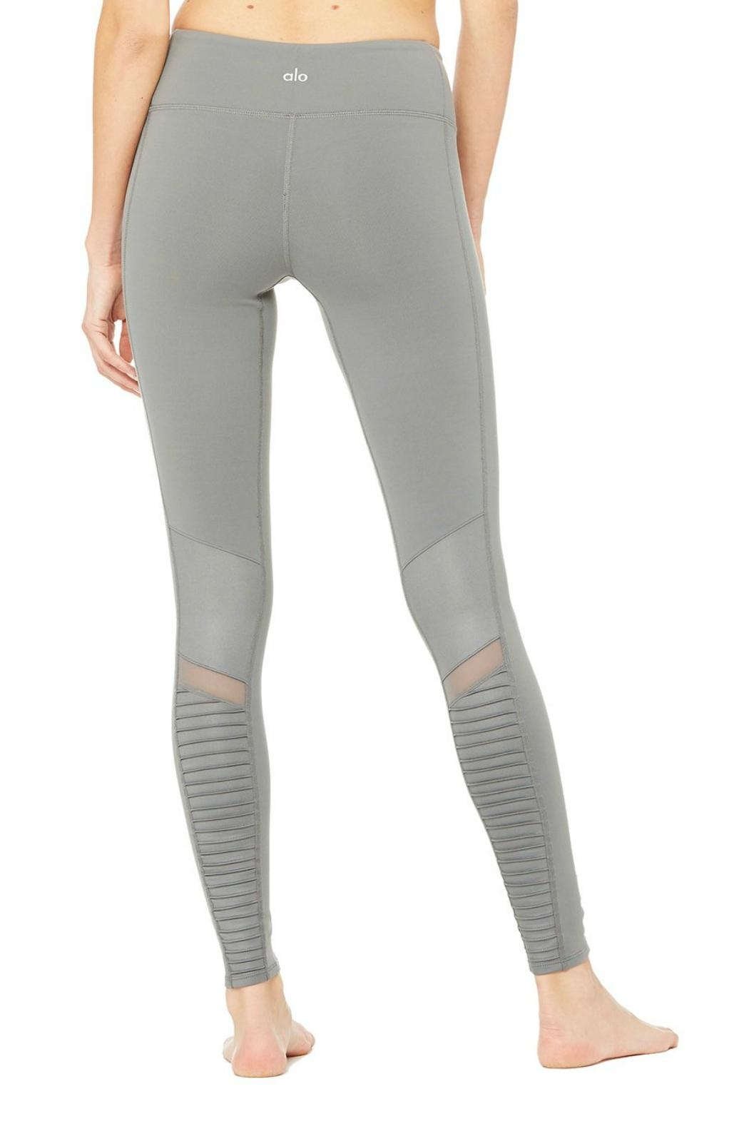 ALO Yoga Moto Legging - Side Cropped Image