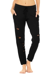 ALO Yoga Ripped Sweatpant - Product Mini Image