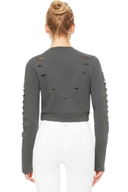 ALO Yoga Ripped Warrior Top - Side cropped