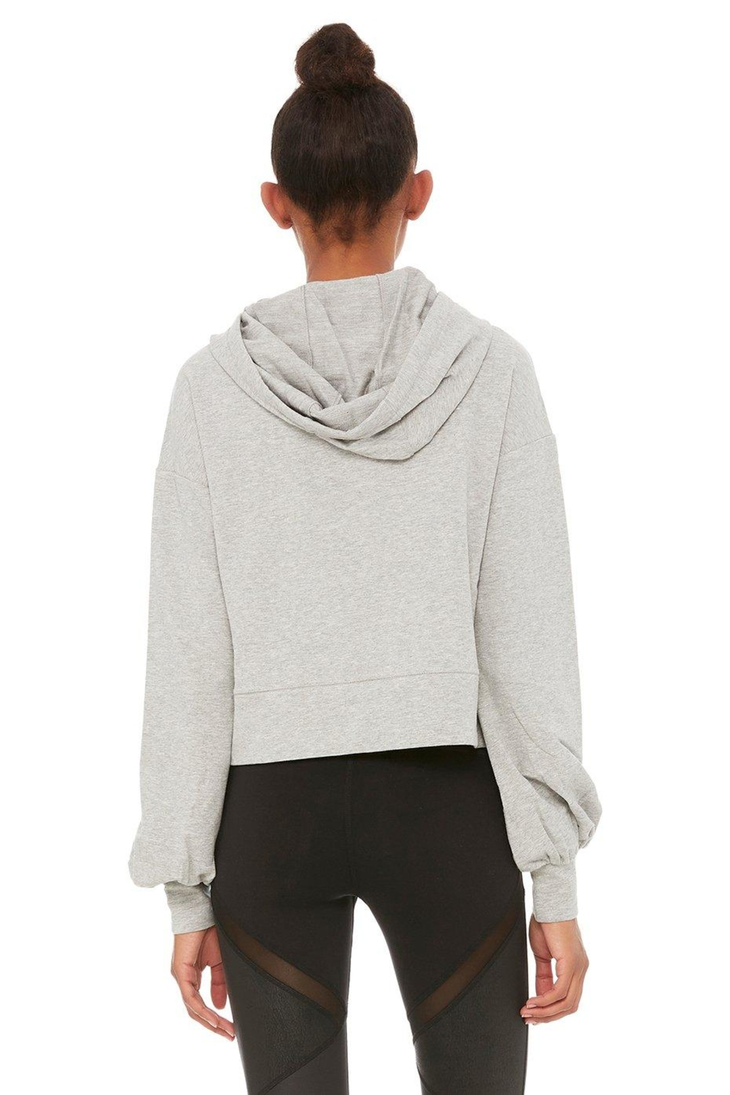 ALO Yoga Social Hooded Top - Front Full Image