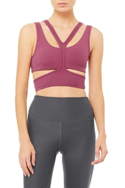 ALO Yoga Trackie Bra - Product Mini Image