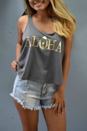 19th & Whimsy Aloha Crop Tank - Product Mini Image