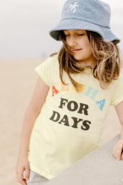 Tiny Whales  Aloha For Days Tee - Front cropped