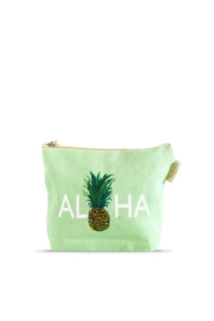 Soha Living Aloha Pineapple Cosmetic Bag - Alternate List Image