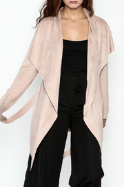 alpha & omega Blush Wrap Cardigan - Product Mini Image