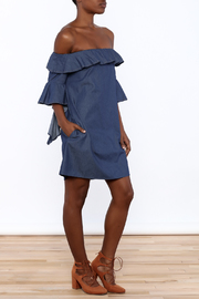 alpha & omega Denim Darling Shift - Front full body