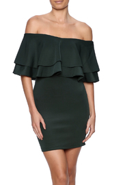 alpha & omega Ruffle Top Dress - Product Mini Image