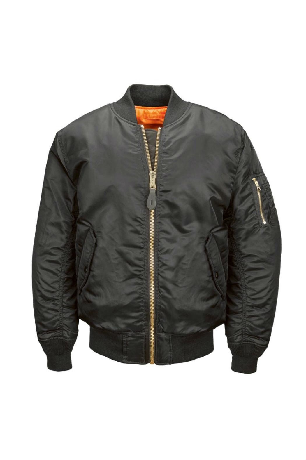 Alpha Industries Ma-1 Bomber Jacket - Front Cropped Image