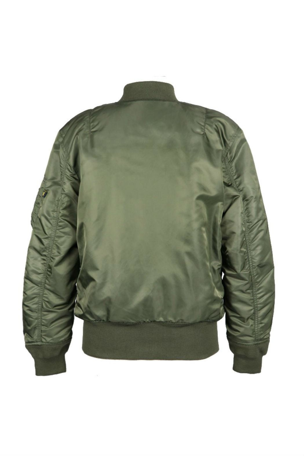 Alpha Industries Ma-1 Bomber Jacket - Side Cropped Image
