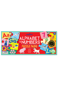 Eeboo Alphabet and Numbers Puzzle Pairs - Product List Image