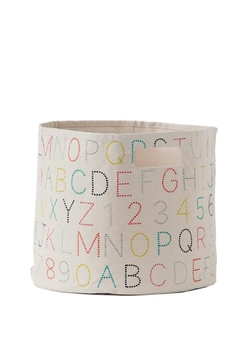 Pehr Designs Alphabet Bin - Alternate List Image
